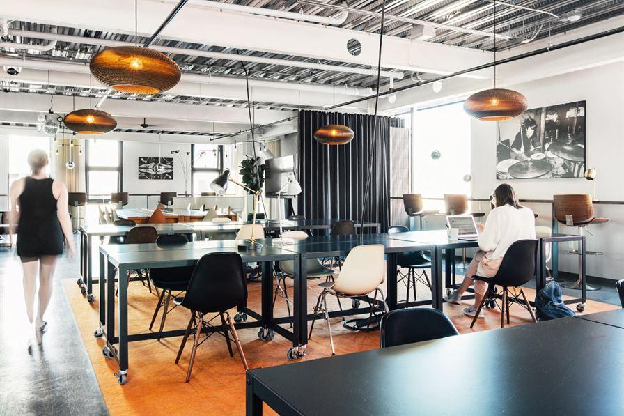 luxury coworking space new york