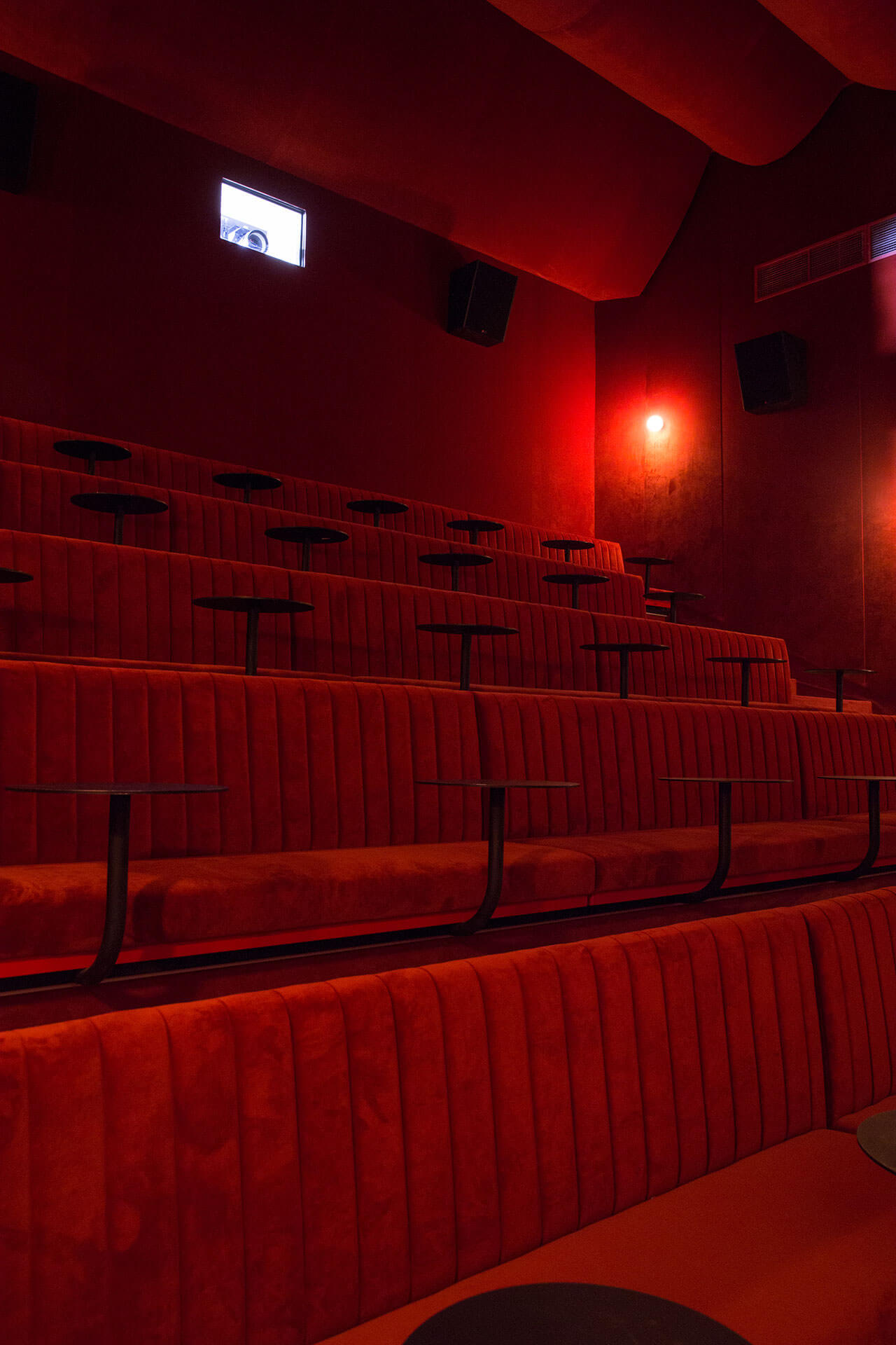 Interior of the main theater of this former adult cinema