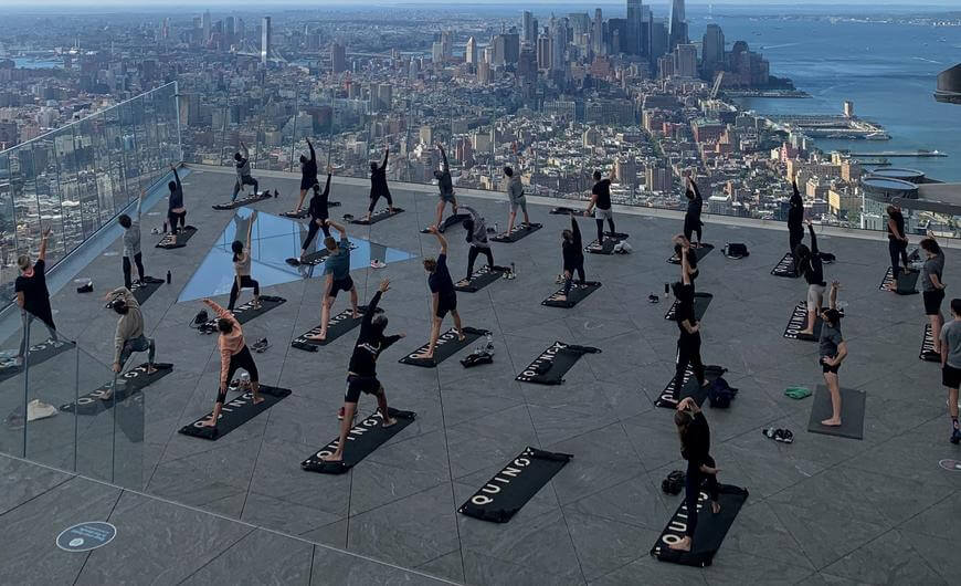 Sky-High Yoga