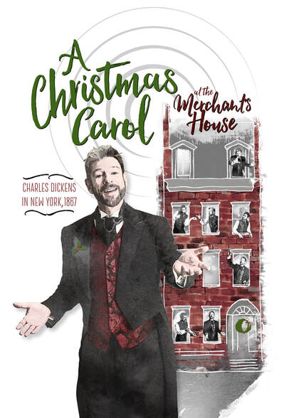 A Christmas Carol at the Merchants House Holiday Events