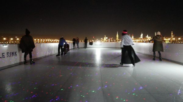 NYC's Only Rooftop Ice Skating