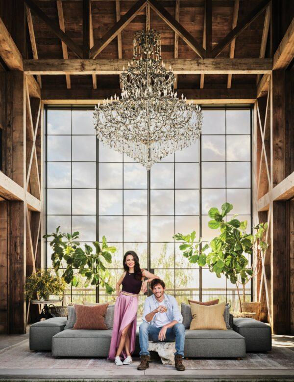 Kunis and Kutcher Farmhouse